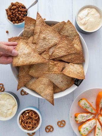Gezondere tortillachips